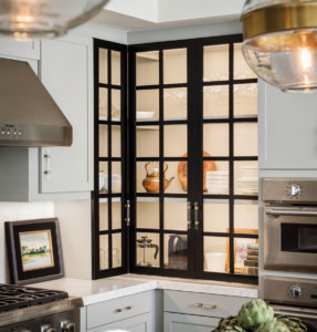 Chic Gray Kitchen