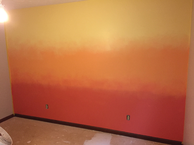 Ombre Wall Complete