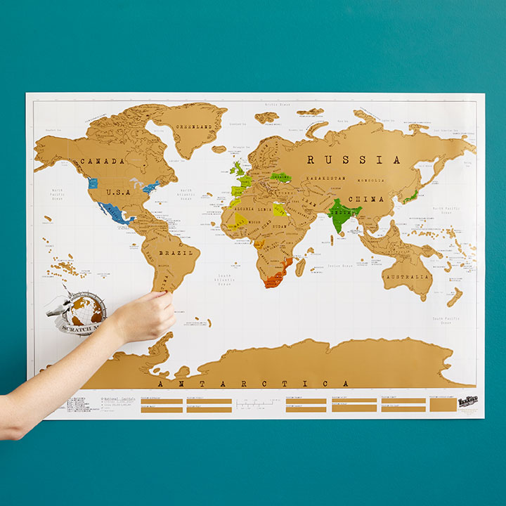 travel gift guide holiday gift guide scratch off map