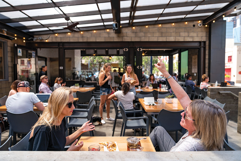 San Diego Chef dines at San Diego coffee shop Lofty Coffee