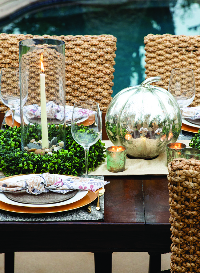 Al fresco tablescape