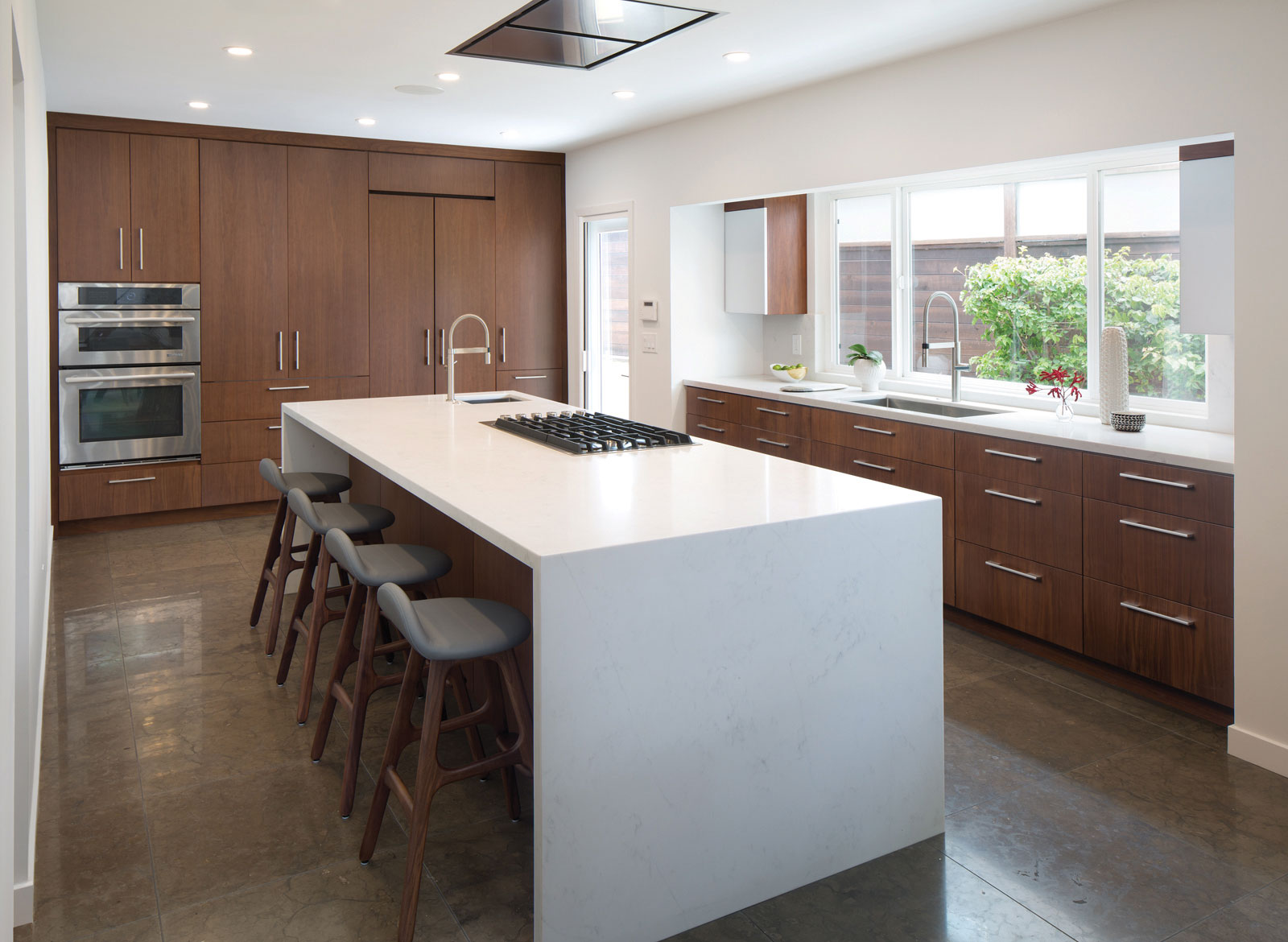 Trends To Try Waterfall Countertops