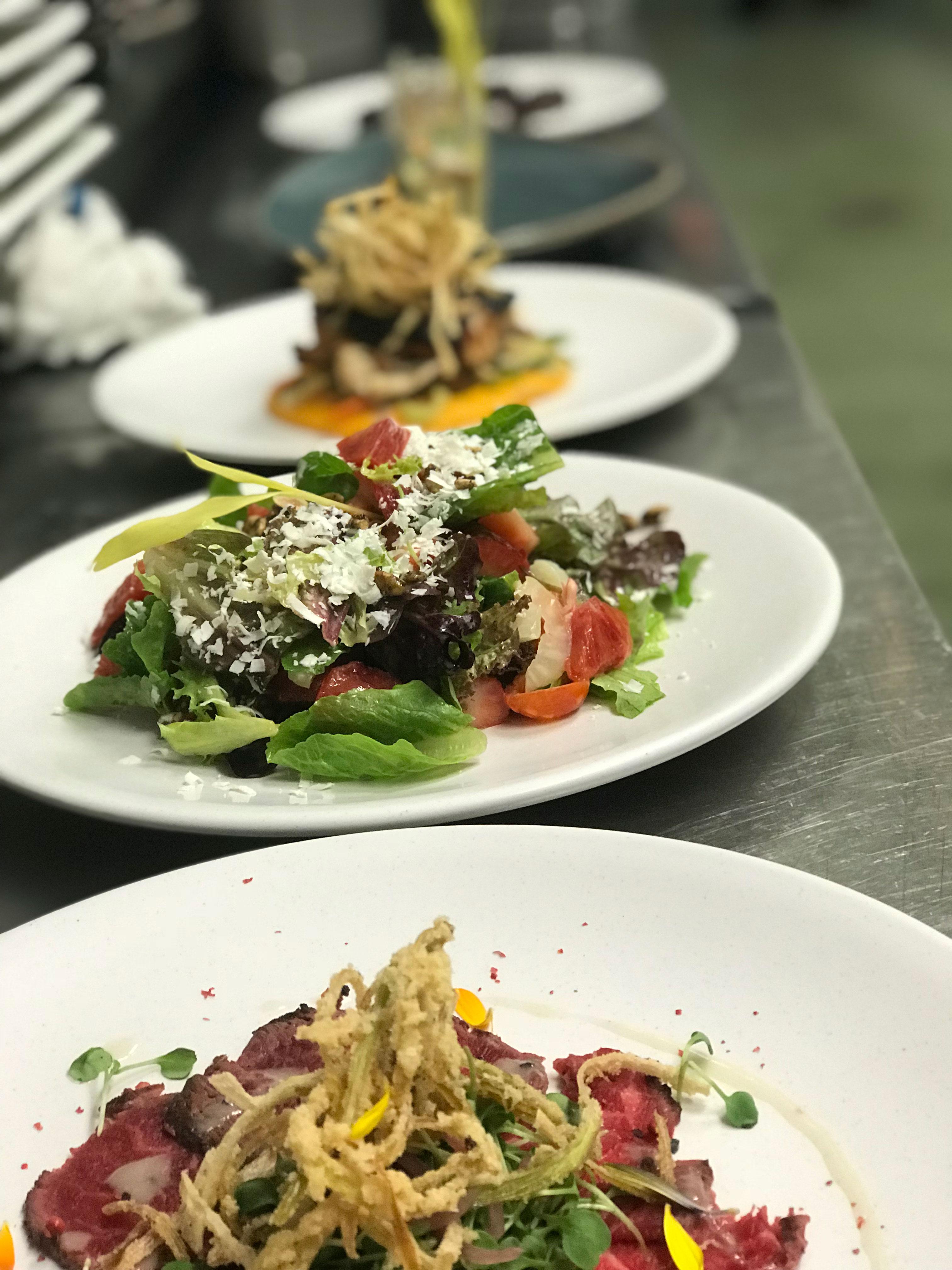 San Diego chef Deborah Scott dines at San Diego restaurant Poseidon for seafood lunch