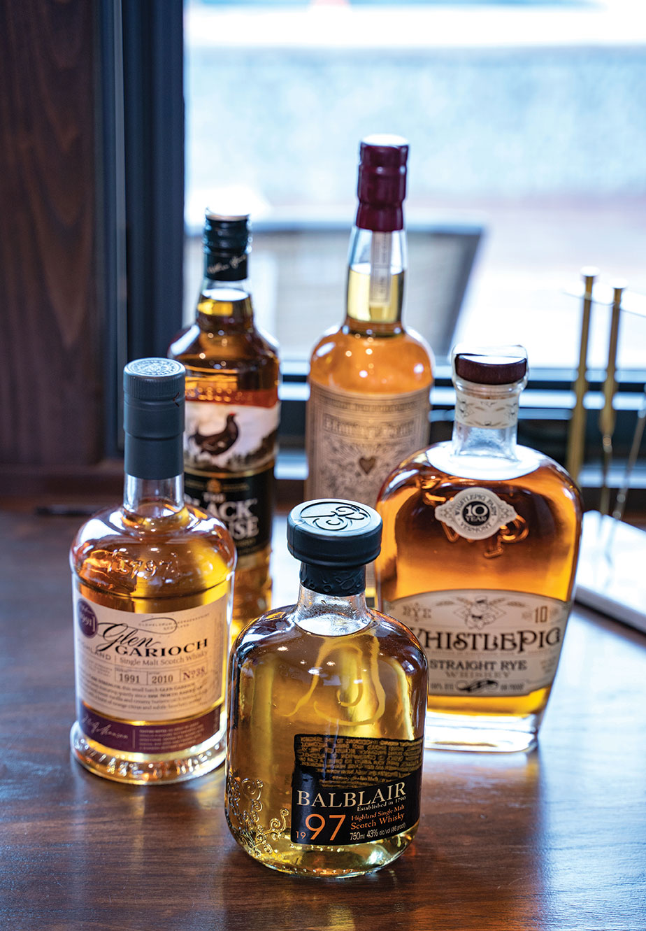 Scotch collection whisky collection whiskey
