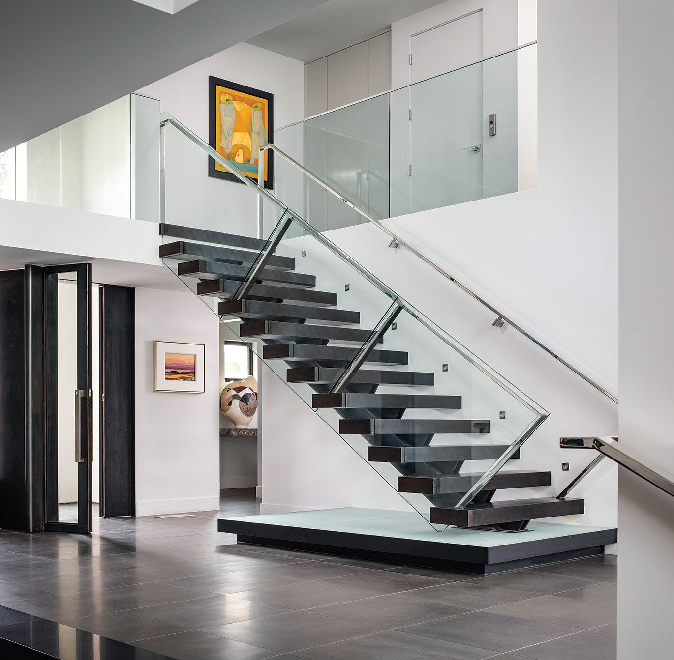 Bob White staircase