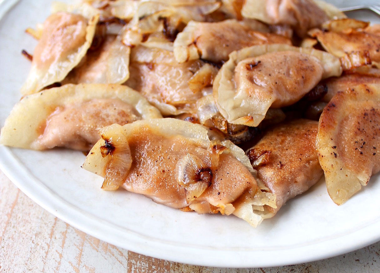 sweet potato pierogies