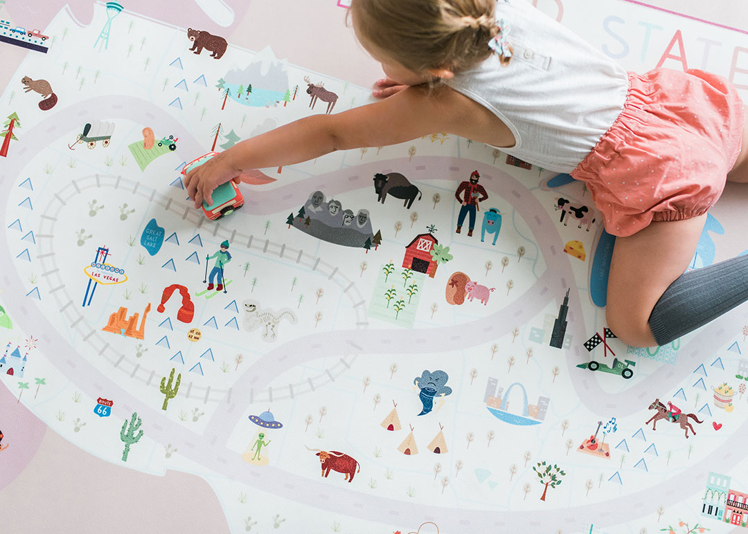 kid gift guide holidays camp castle play mats playmat usa states america toys