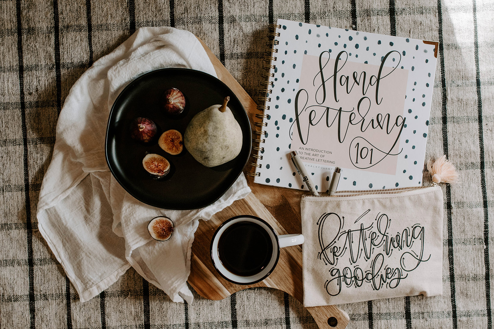craft gift guide holidays hand lettering 101