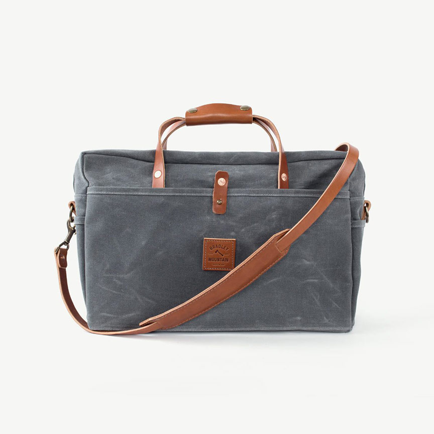 bradley mountain courier briefcase bag satchel guy gear gift guide for men holidays