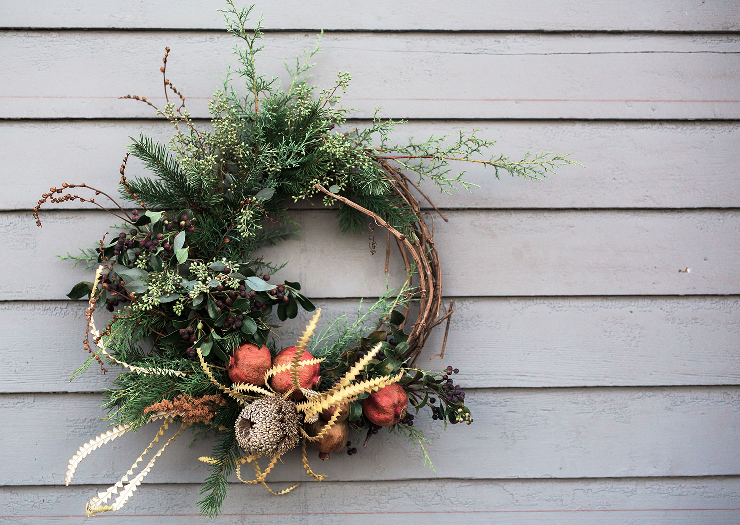 DIY wreath making with Native Poppy Natalie Gill