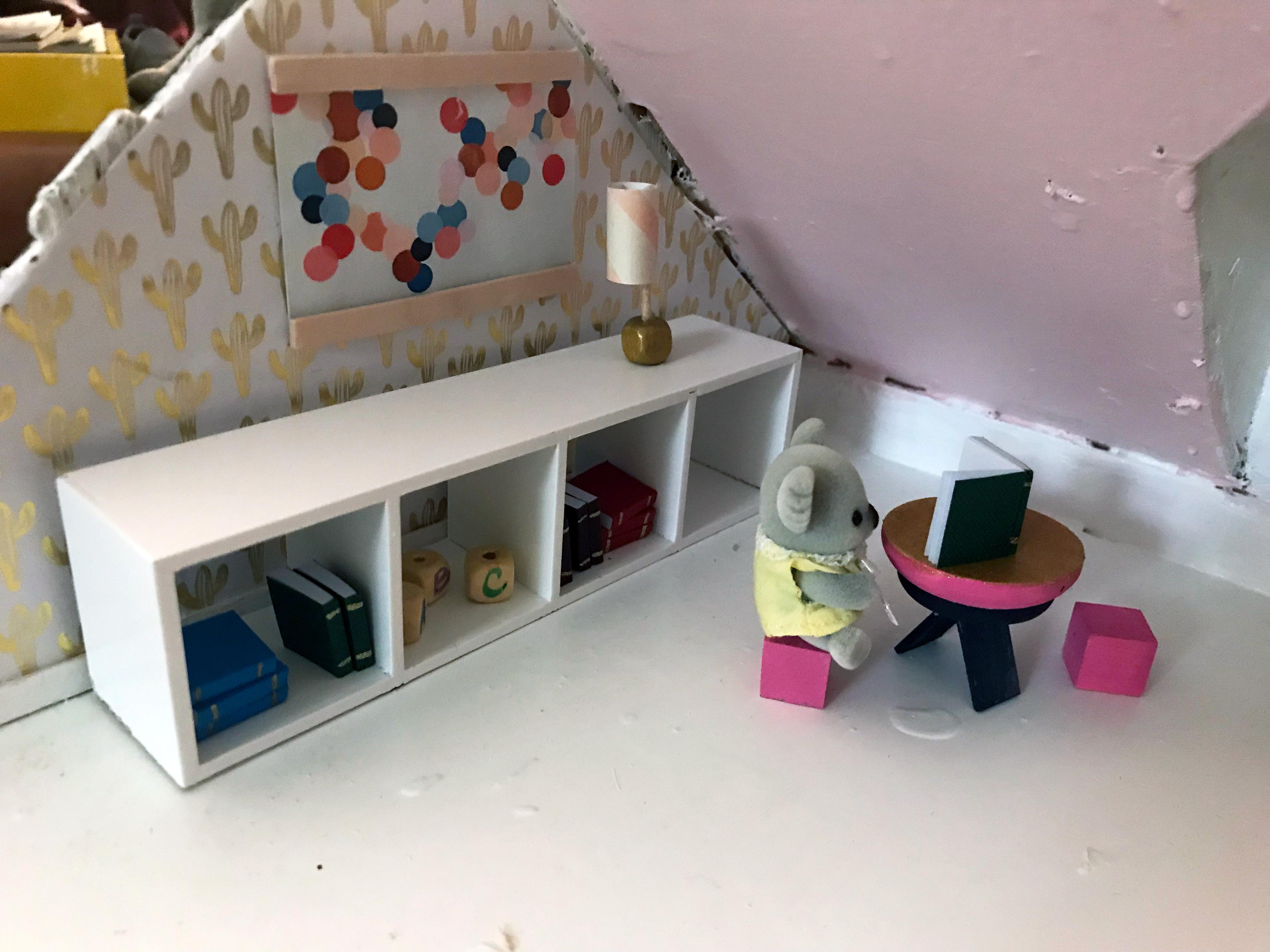 Dollhouse makeover #secretlivesweek