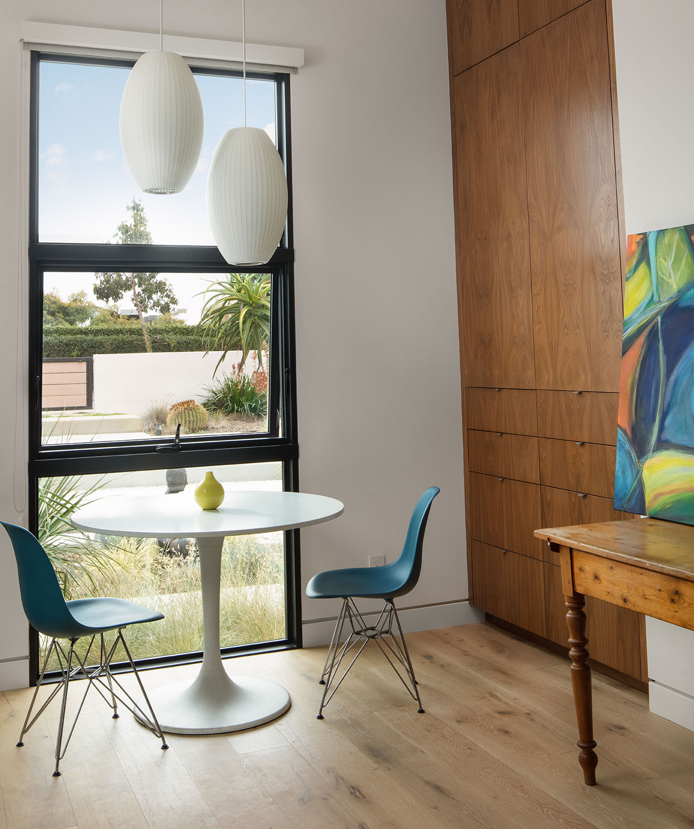 green home design office tutoring space sustainable architecture LEED