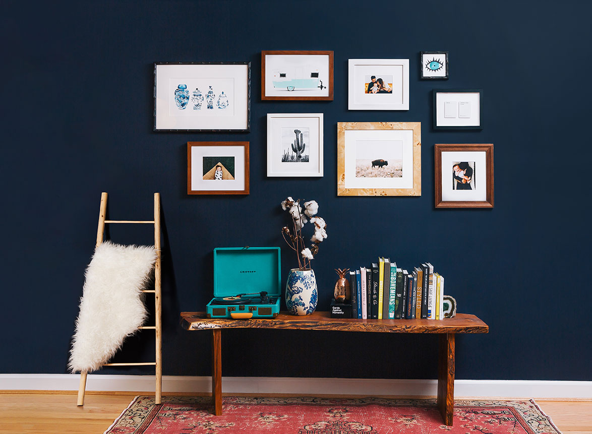 gallery wall #sdsmallspaces art small spaces