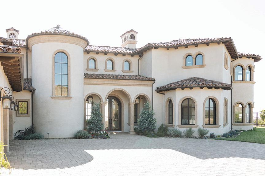 Italian home design Rancho Santa Fe San Diego