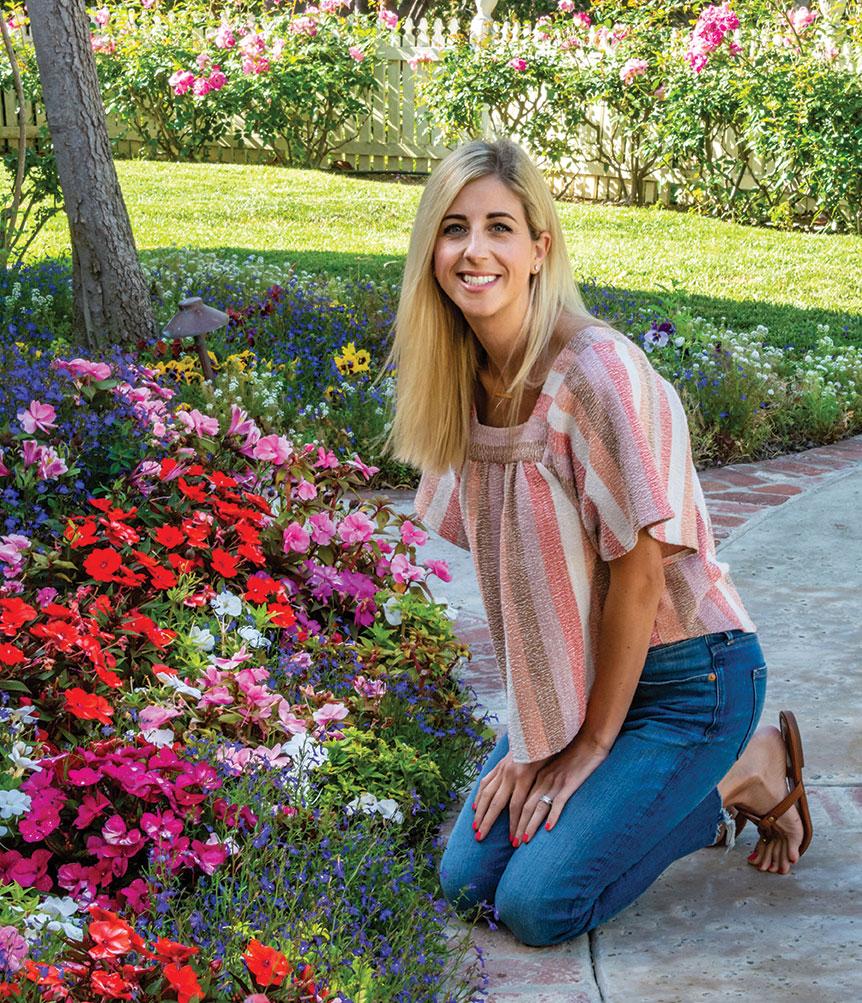 Kristin Helms floral garden