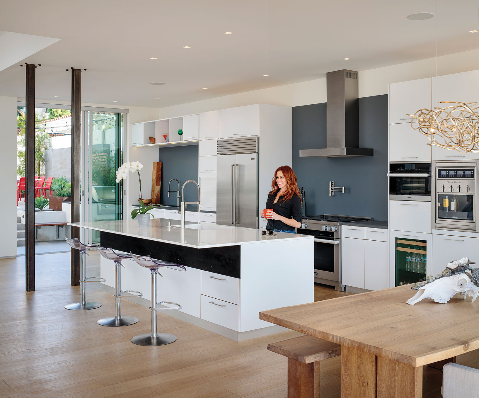 open living kitchen