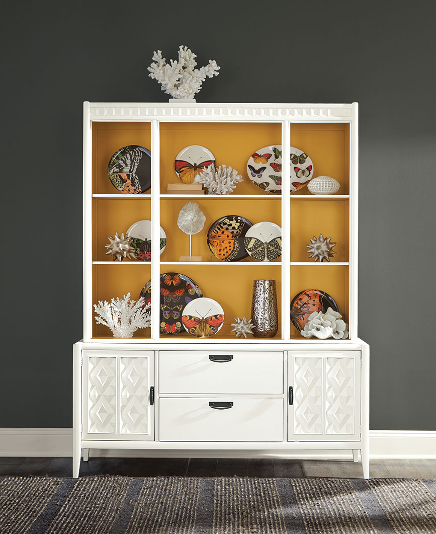 color combos paint charcoal gray golden yellow painted hutch painted furniture
