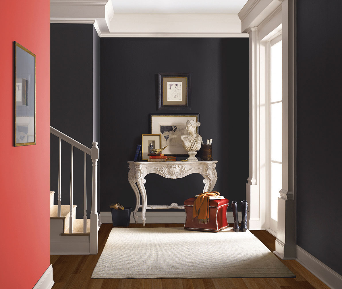 choosing color navy gray paint