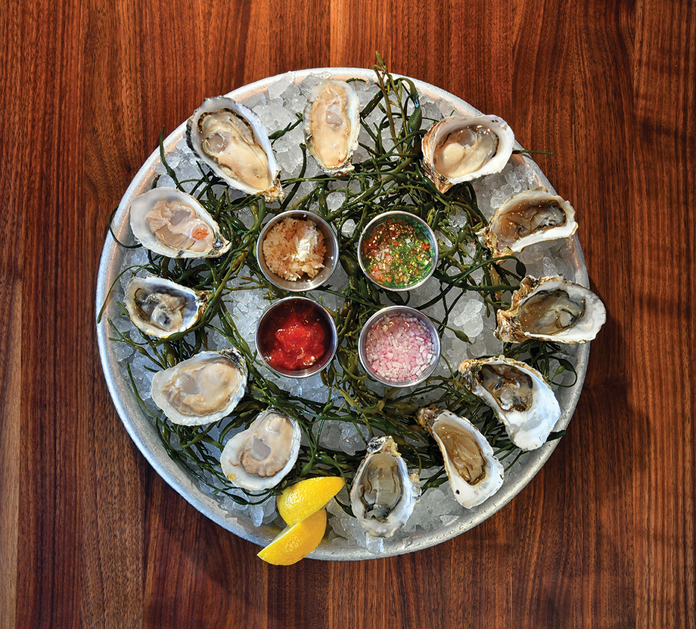 Kings Fish House oysters