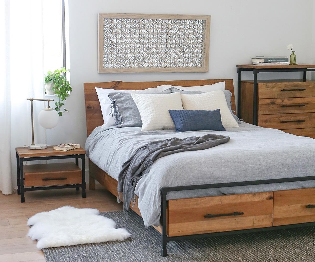 scandinavian designs rustic style karsten bedroom san diego