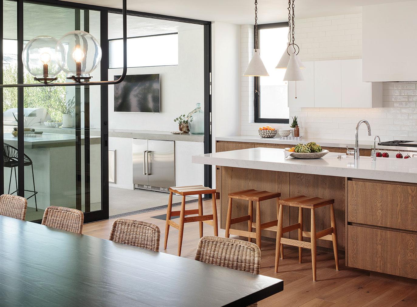 kitchen neutral color design san diego cardiff trace wilson
