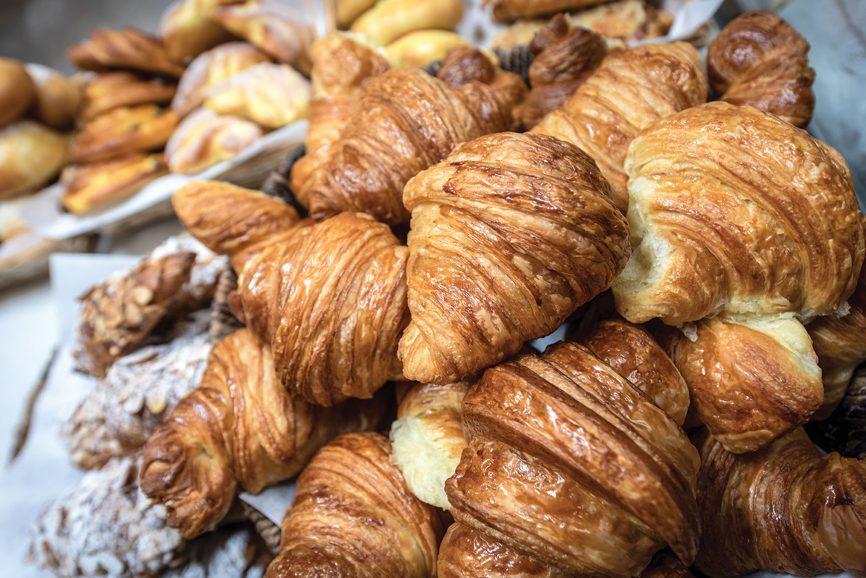 The French Oven croissants