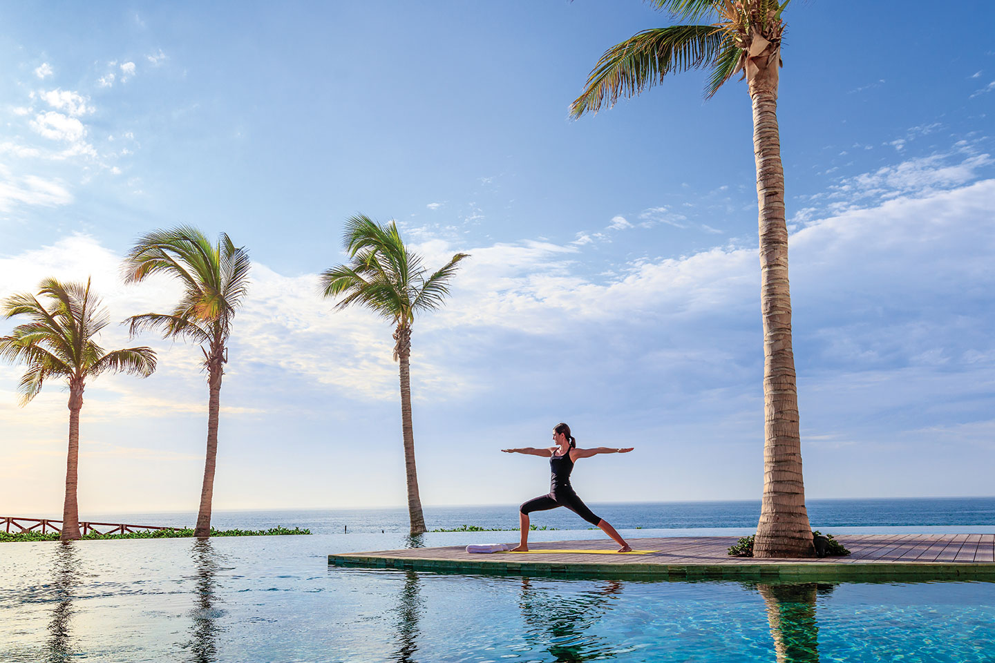 yoga grand velas los cabos mexico relaxation travel