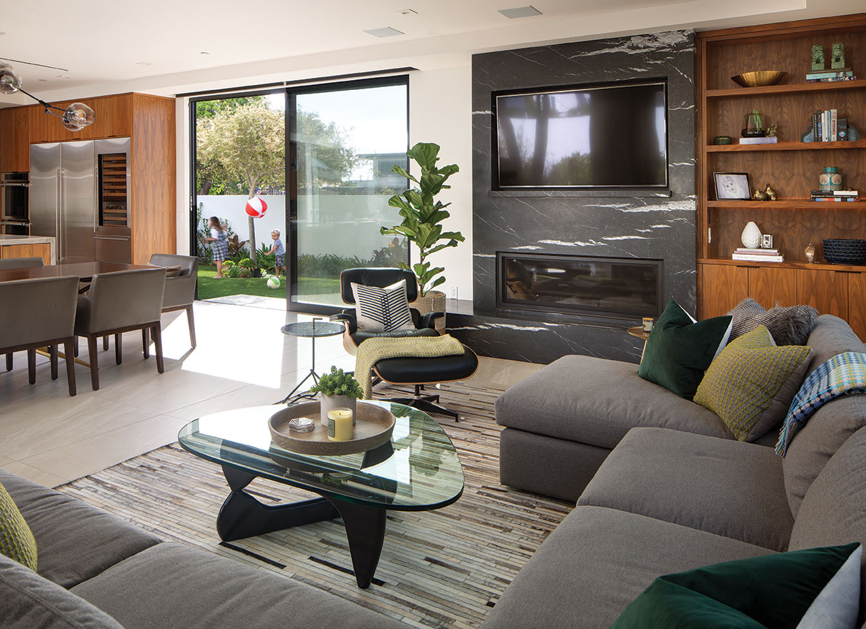 coronado modern family home kellie mccormick interior design