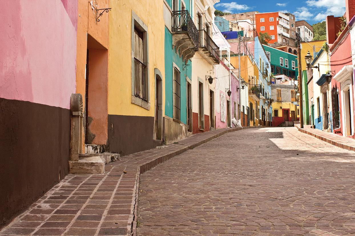 guanajuato city mexico travel colorful streets