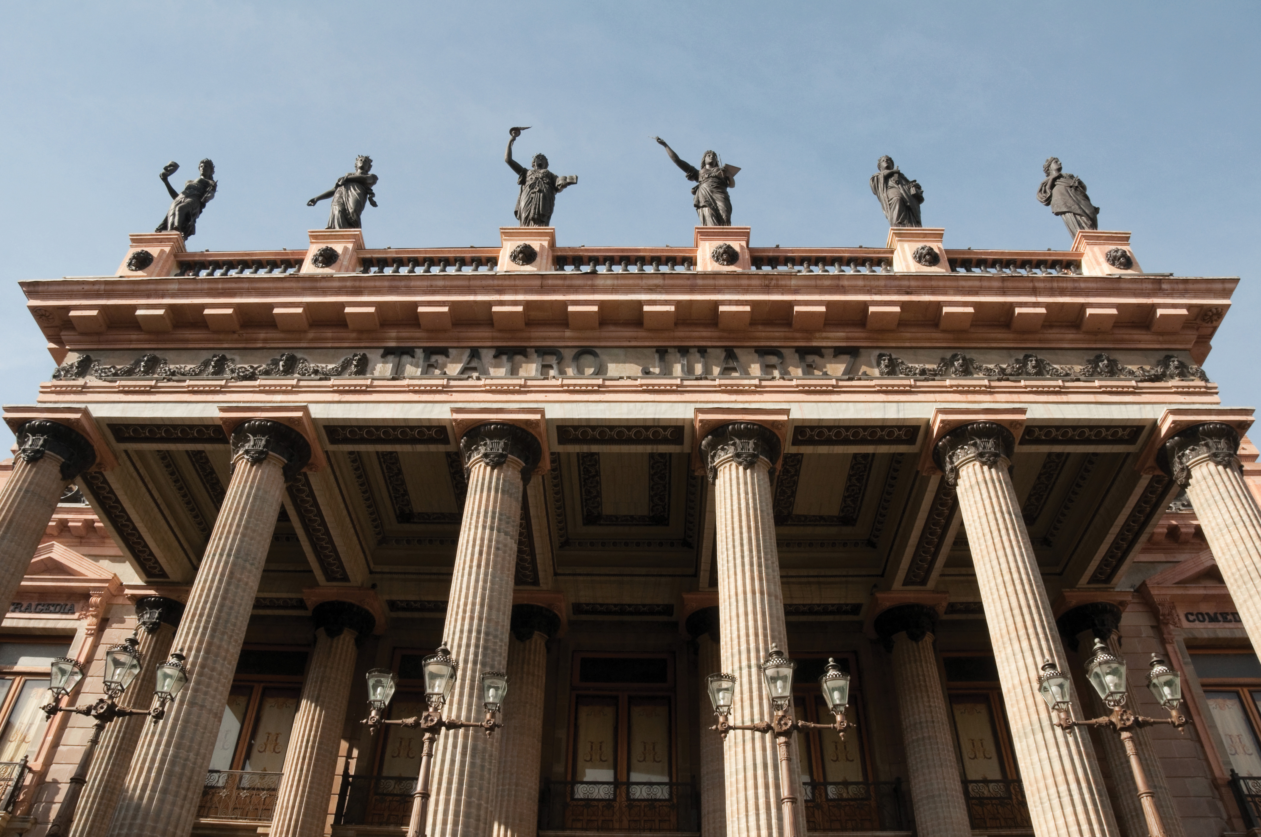 san miguel de allende mexico travel teatro juarez doric columns architecture