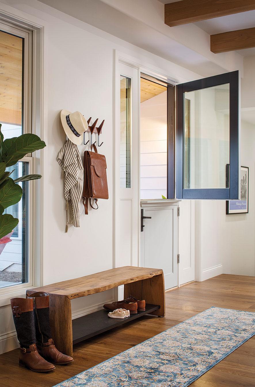 dutch door entry way entryway