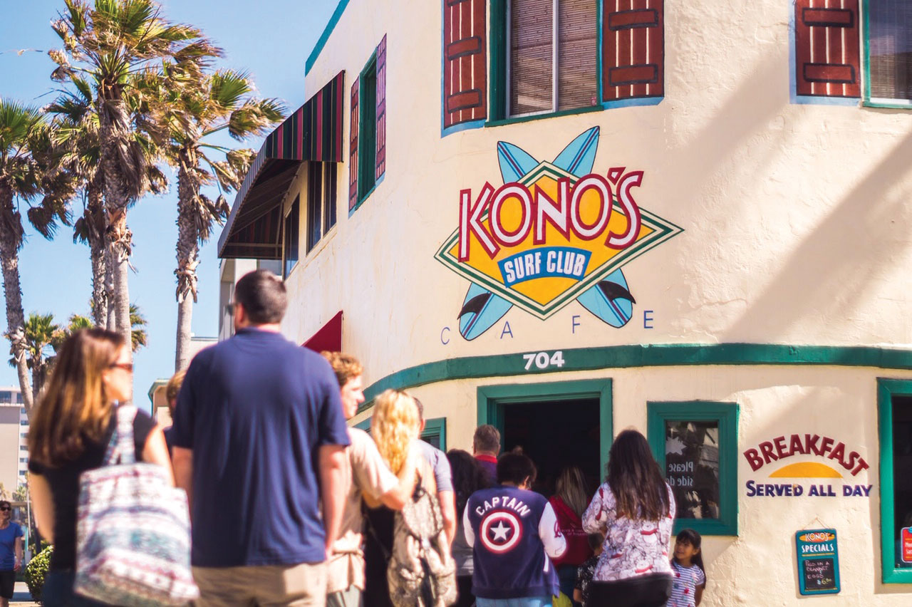 konos cafe pacific beach san diego