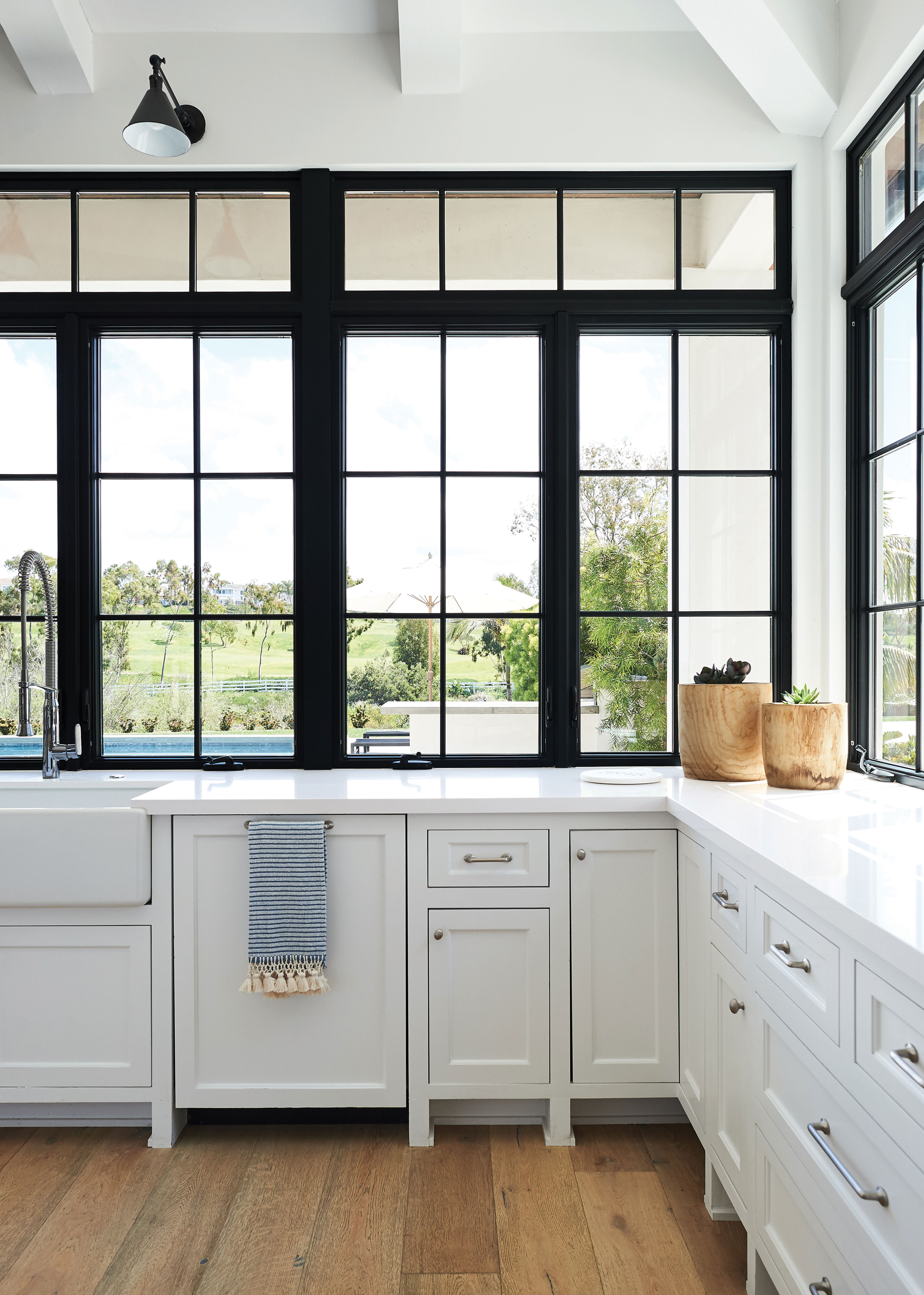 surprising kitchen lots windows   Kitchens of the Year 2019: DIY and Lots of Light - San ...