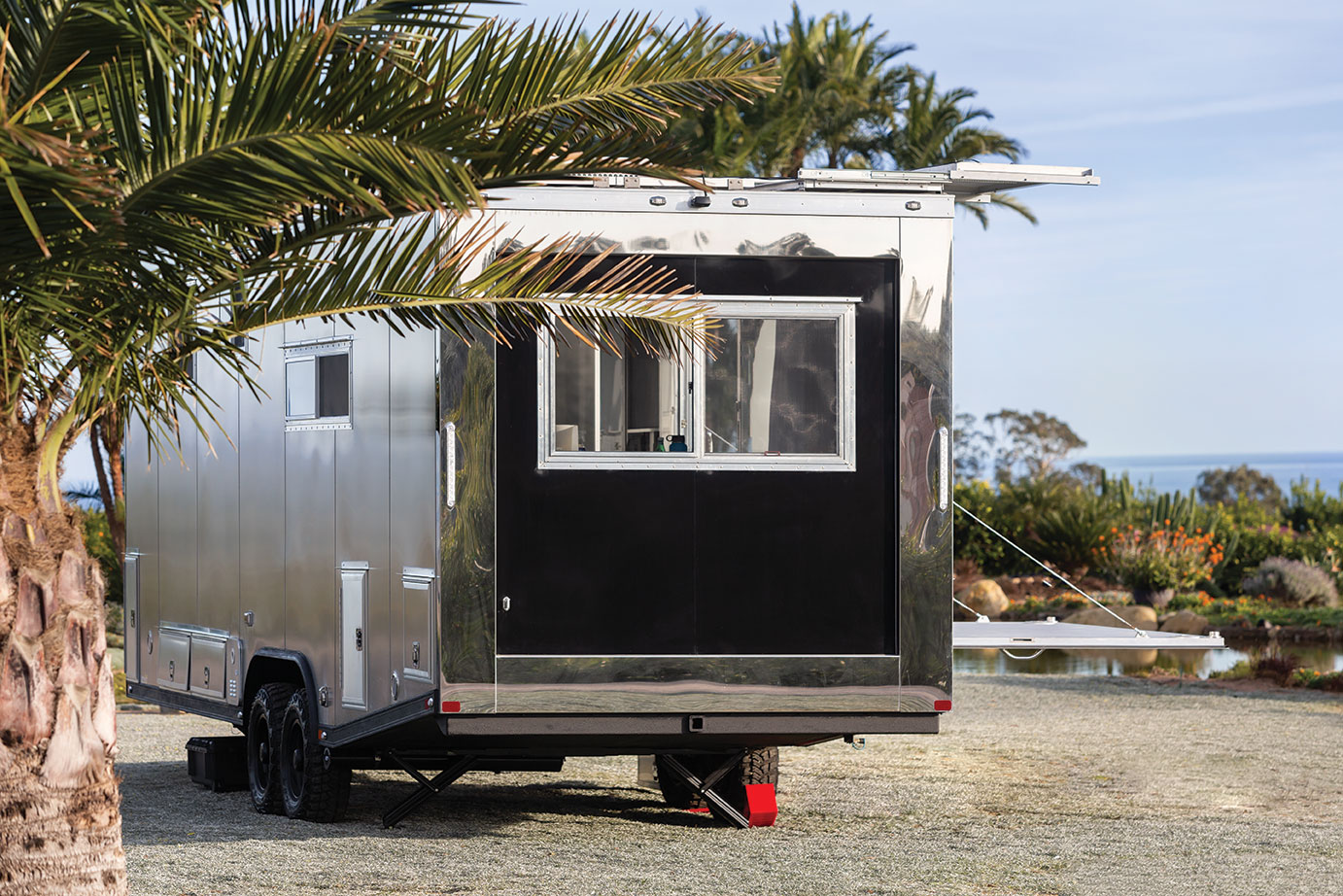 living vehicle tiny house trailer