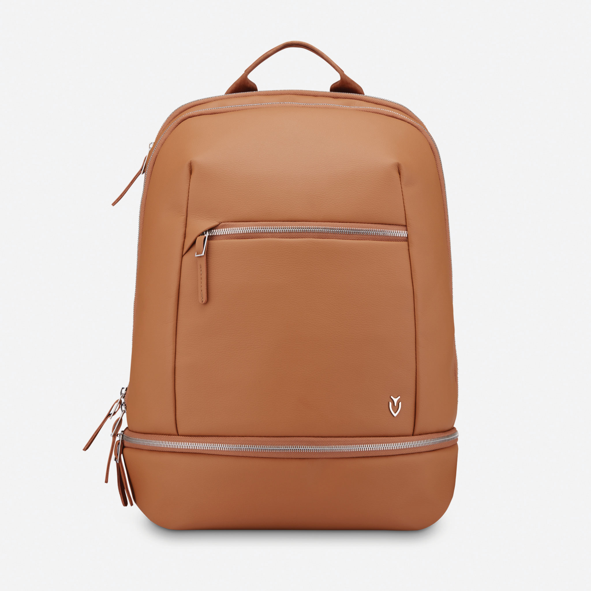 vessel bag signature 2.0 caramel tan