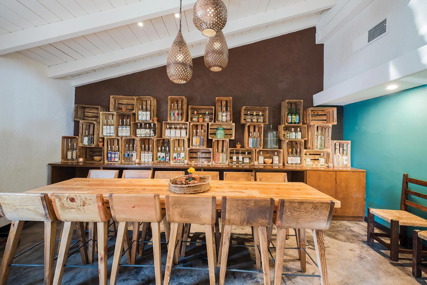 Tahona san diego old town tasting room mezcal