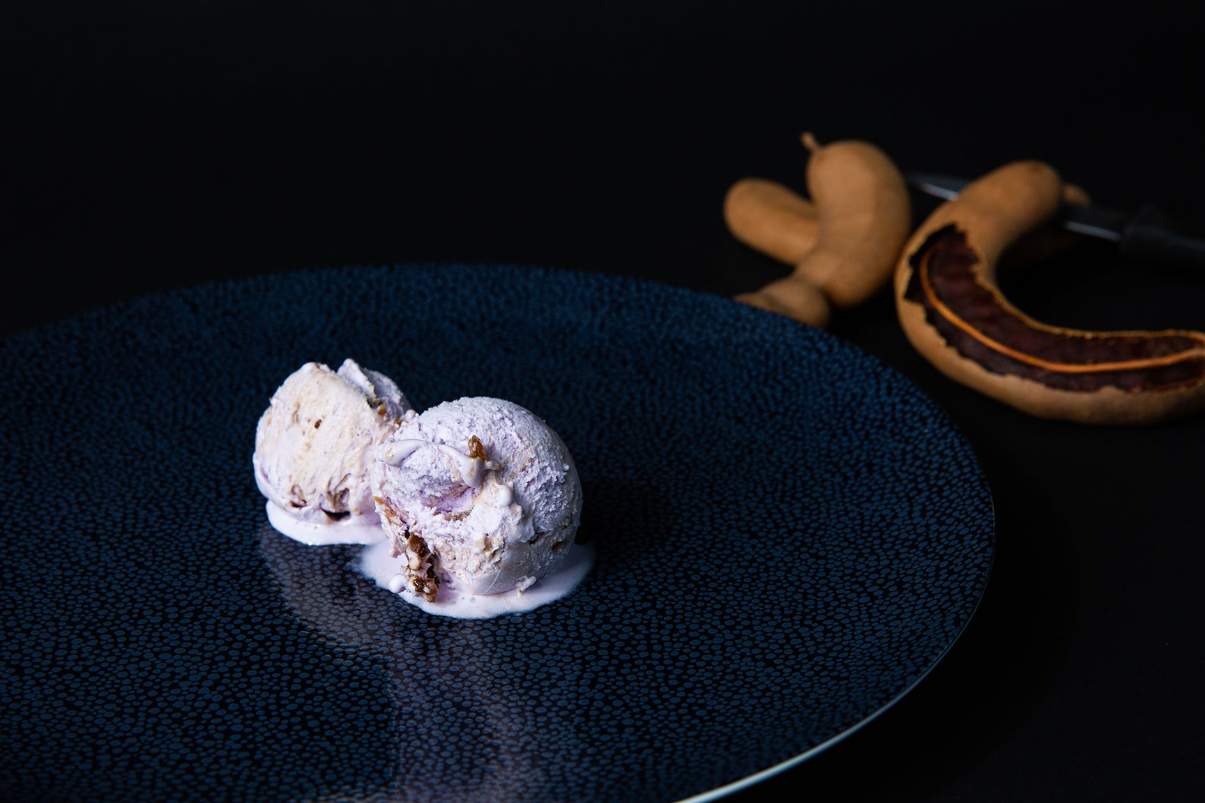 ans dry cleaning and specialty produce ube tamarind ice cream san diego