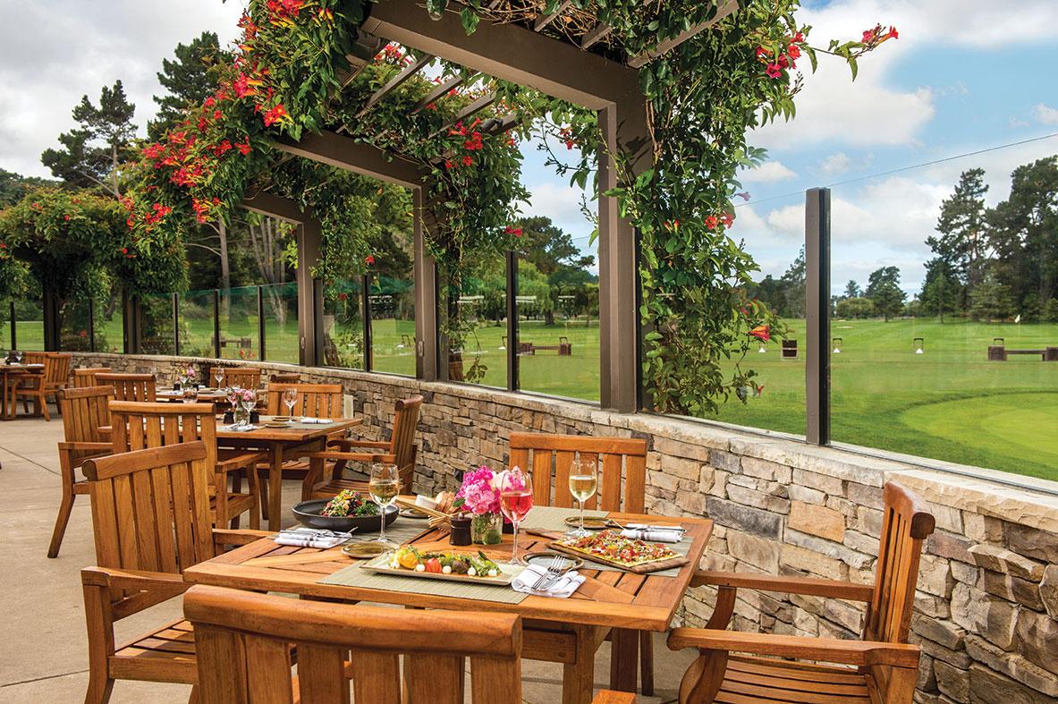 edgar's edgars quail lodge carmel valley patio golf course