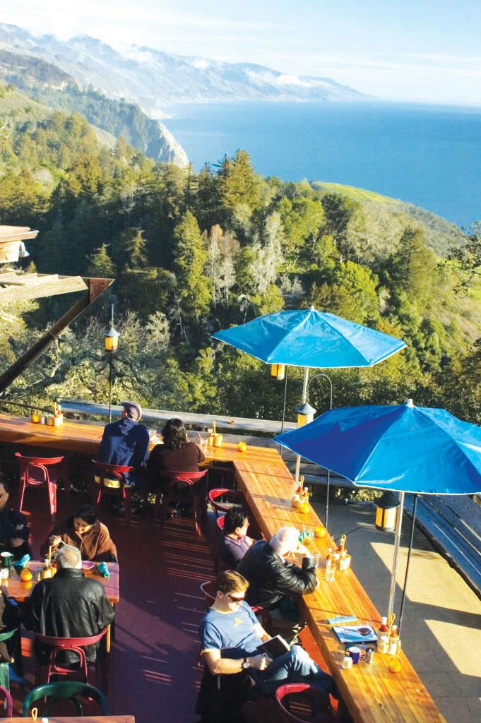 Nepenthe Carmel Big Sur
