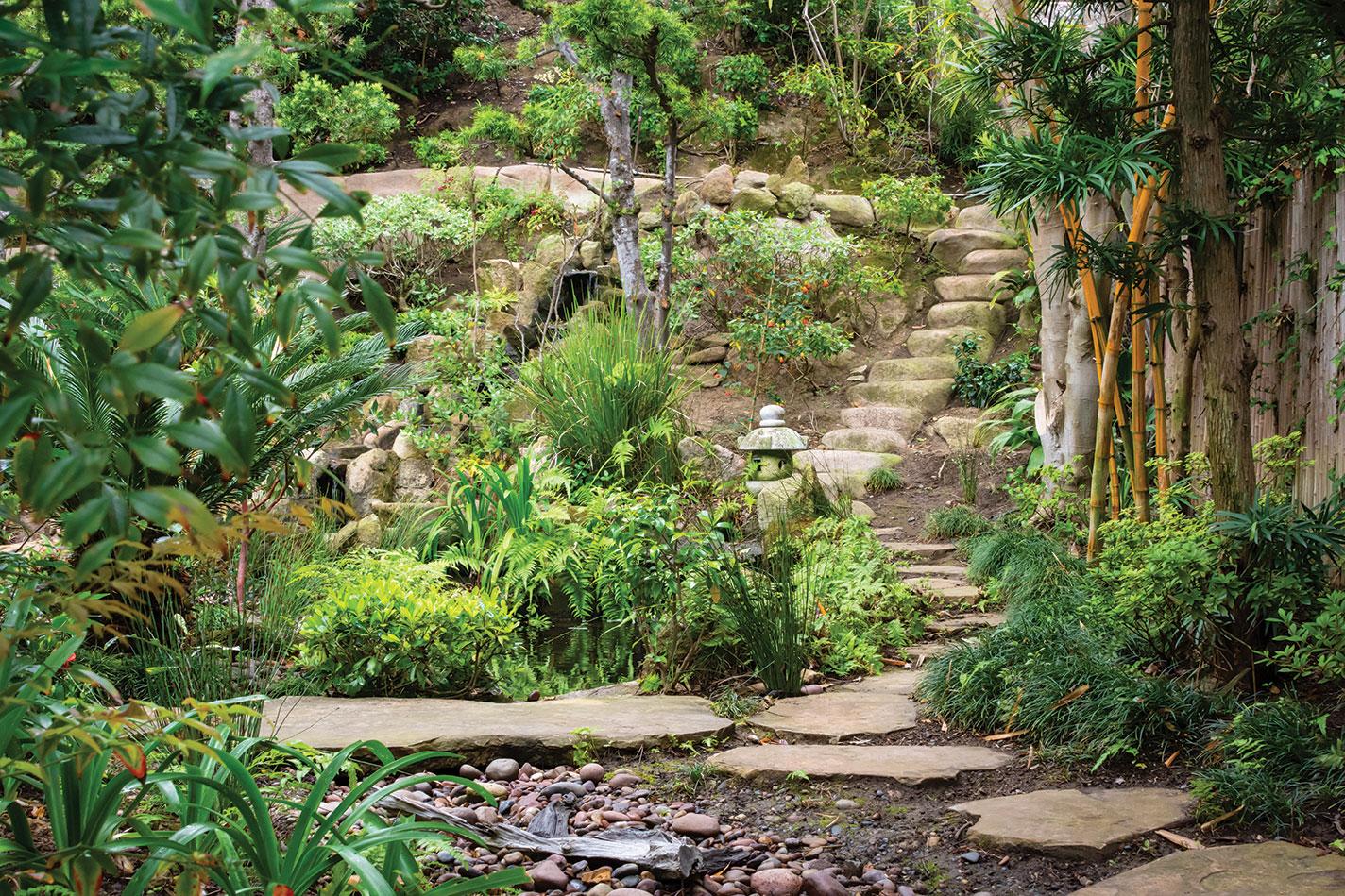 zen landscape Japanese garden san diego