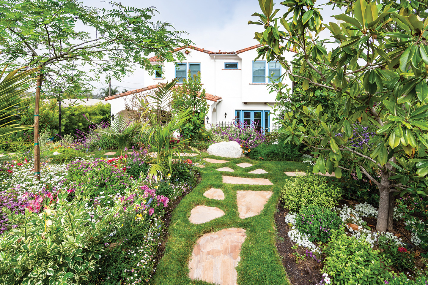 Gardens Of The Year 2019 California Cottage Style San Diego