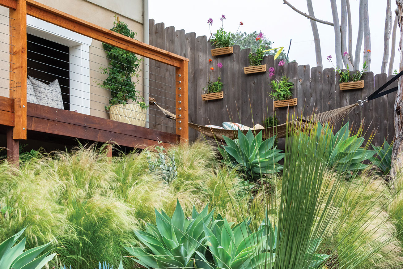 tiered garden tiers terrace hammock