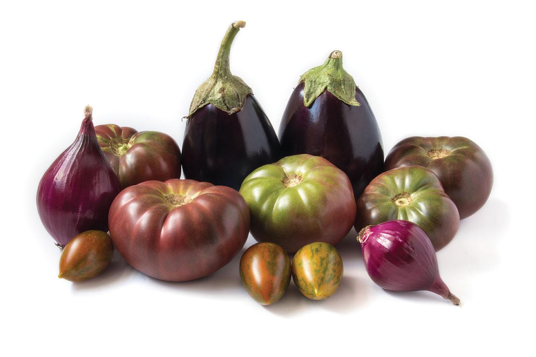 eggplant tomato