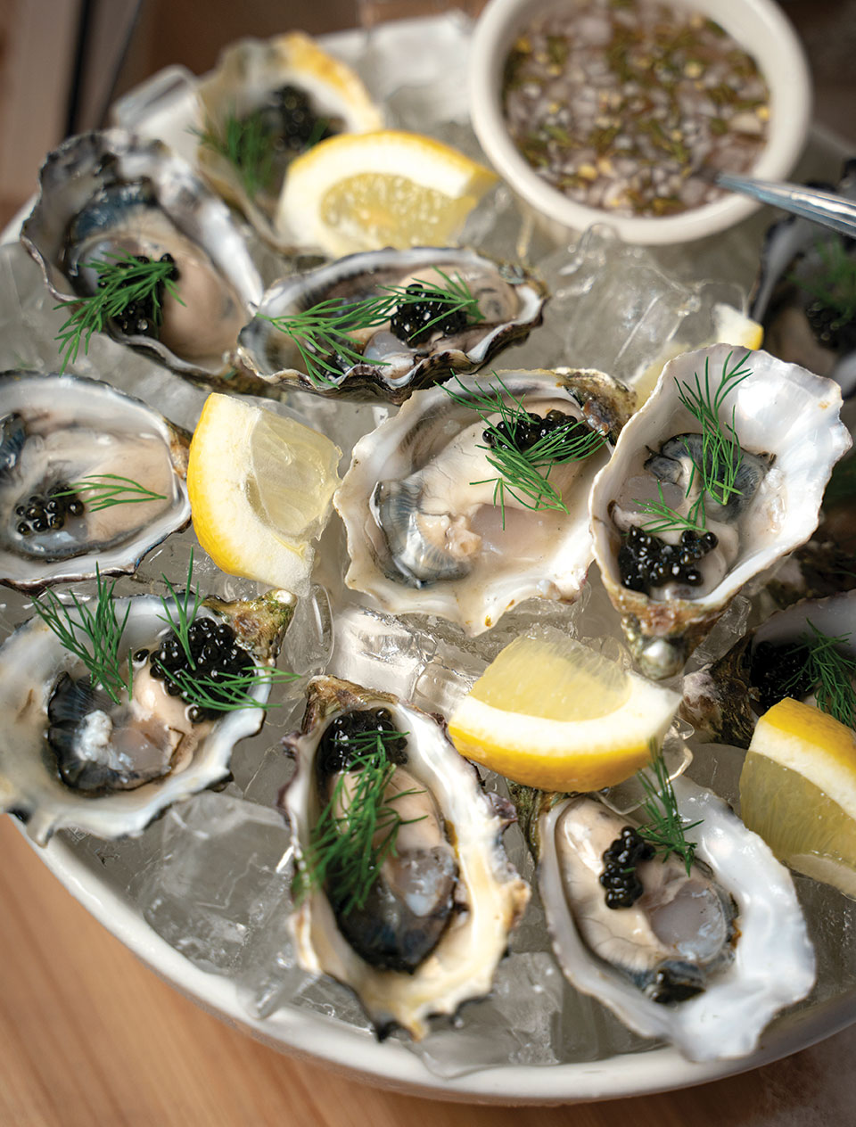 oysters and mignonette recipe The Rose South park san diego