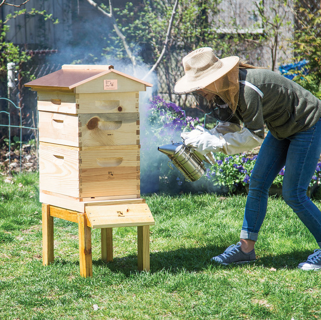 garden gift guide cottage urban beehive beekeeping
