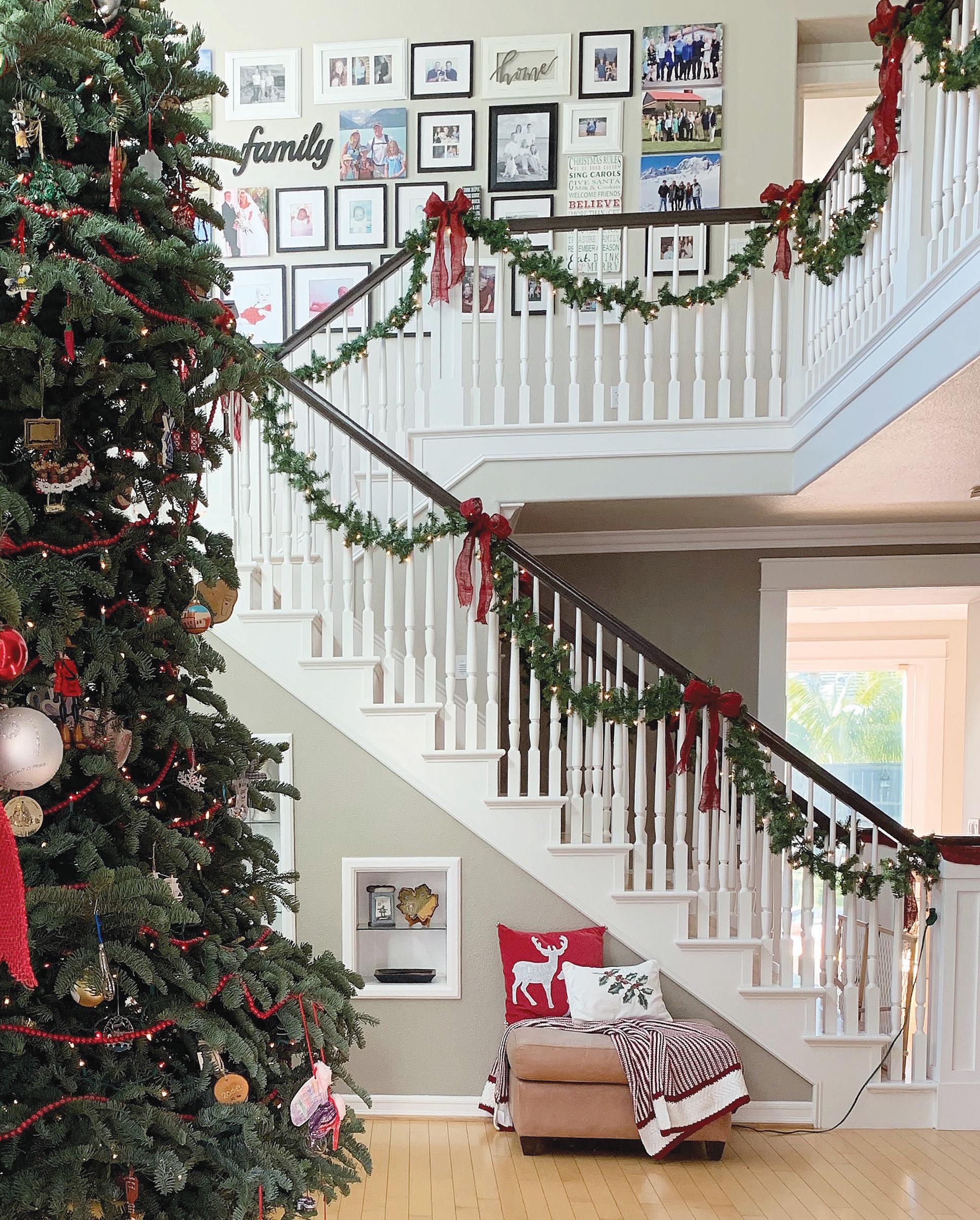 festive decor farmhouse