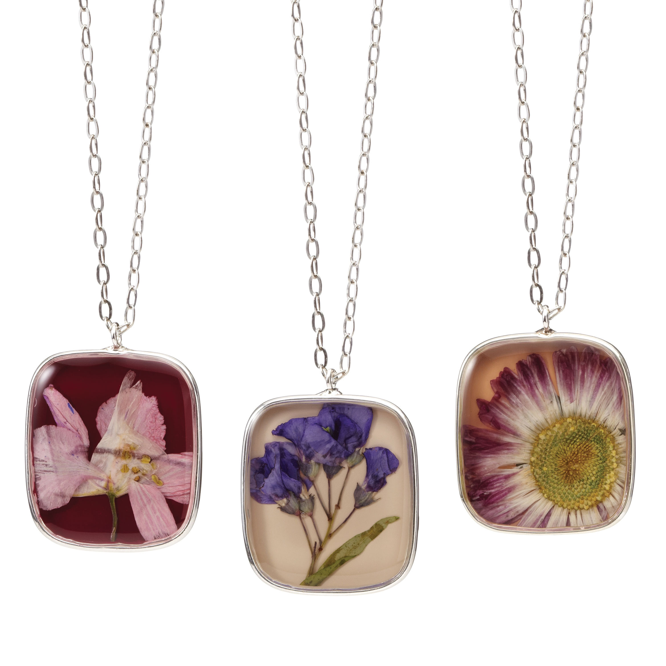 garden gift guide birth month flower necklace