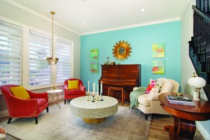 Playful Hues How To Brighten A Room